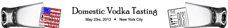 Domestic Vodka Tasting 2013