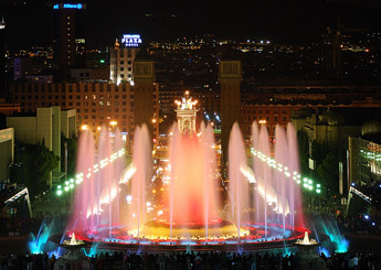 Font Màgica Fountain of Montjuïc