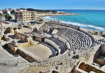 Tarragona ancient Roman amphitheatre