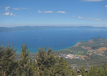 Lake Tahoe from Heavenly Gondola