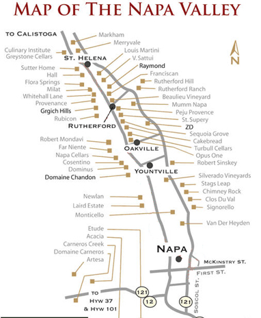 The fifty best napa valley for Best time to visit napa valley wine country