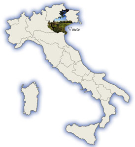Prosecco Region Italy Map.The Fifty Best Prosecco
