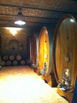 Casali di Bibbiano Wine Cellar