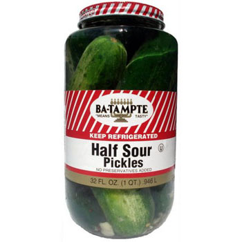Ba-Tampte Half Sour Pickles