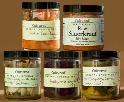 Assorted Cultured Pickles