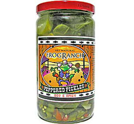 Frog Ranch Peppered Pickles