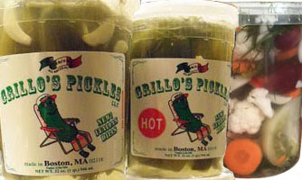 Grillo's  Italian Dills, Spicy Dill Pickles & Mixed Vegetables