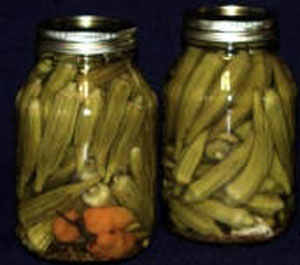 Hill Country Pickled Okra