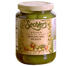 Sechler's Genuine Dill Pickles