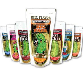 Assorted Van Holten's Pickles