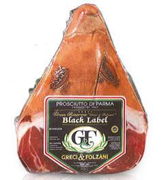 Greci & Folzani Black Label Riserva Prosciutto di Parma