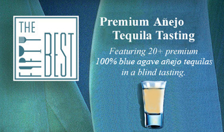 The Fifty Best Añejo Tequila Tasting