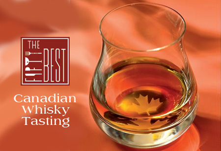 The Fifty Best Canadian Whisky Tasting