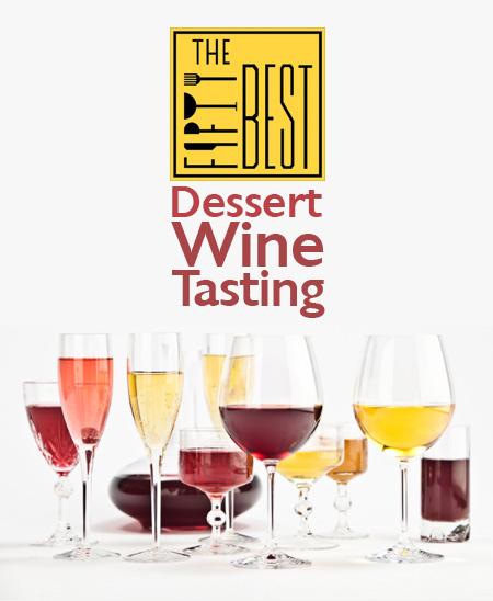 The Fifty Best Dessert Wine Tasting