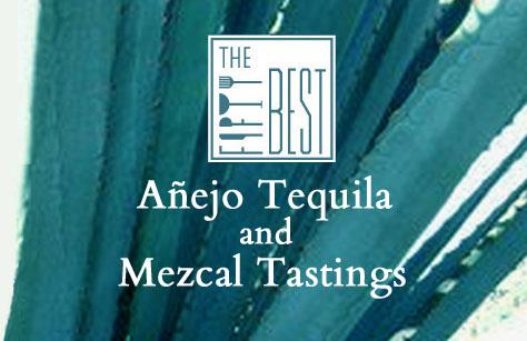 The Fifty Best Añejo Tequila & Mezcal Tasting