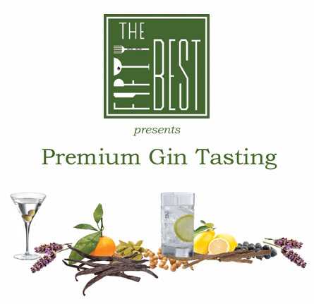 The Fifty Best Premium Gin Tasting 2017