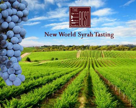 The Fifty Best New World Syrah/Shiraz Wine Tasting