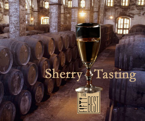 The Fifty Best Sherry Tasting