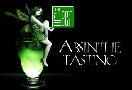 The Fifty Best Absinthe Tasting