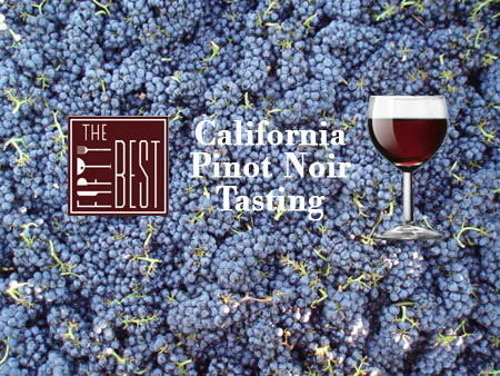 The Fifty Best California Pinot Noir Tasting