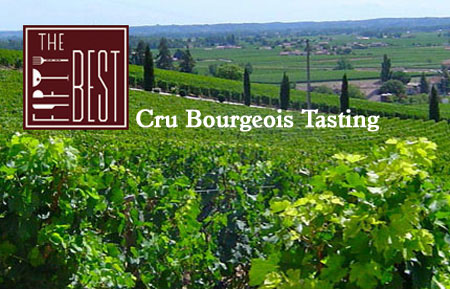 The Fifty Best Cru Bourgeois Tasting