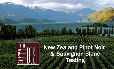 The Fifty Best New Zealand Pinot Noir & Sauvignon Blanc Tastings