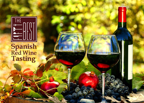 The Fifty Best Spanish Red Wine Tasting