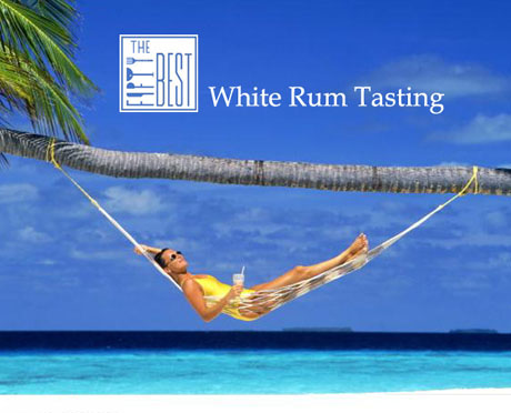 The Fifty Best White Rum Tasting