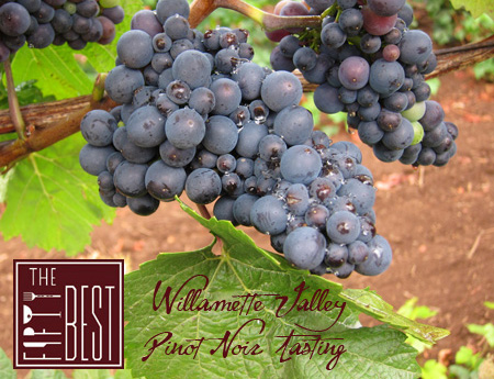 The Fifty Best Willamette Valley Pinot Noir Tasting