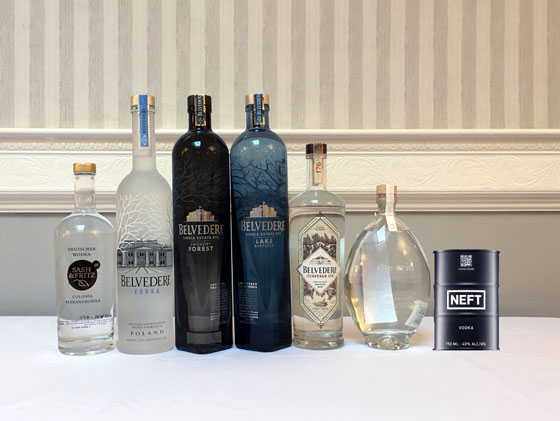 The Fifty Best Imported Vodka Tasting 2020