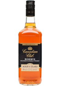 Canadian Club Reserve Aged 9 Years Blended Canadian Whisky