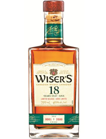 J.P. Wiser's 18 Years Old Blended Canadian Whisky