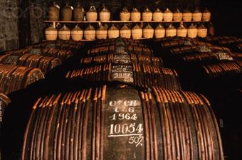 Courvoisier Cognac Barrels