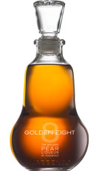 Golden Eight Pear Liqueur by Massenez