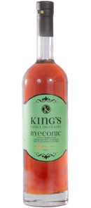 King's Family Distillery Ryeconic Twice Barreled Straight Rye Whiskey