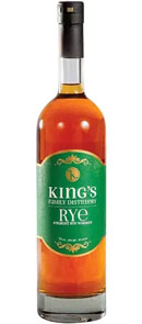 King's Family Distillery Straight Rye Whiskey