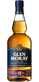 Glen Moray Elgin Heritage Aged 15 yrs Single Malt Scotch