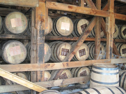Maker's Mark casks