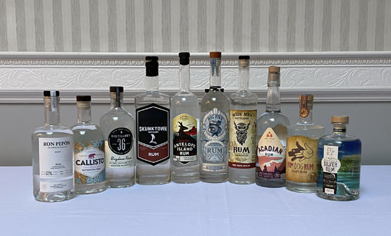 The Fifty Best White Rum Tasting 2021