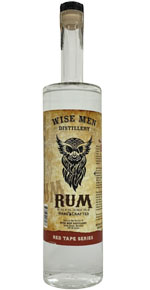 Wise Men Distillery Rum Red Tape Series