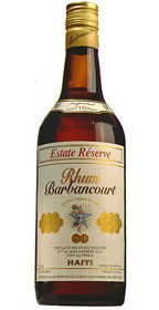 Rhum Barbancourt Estate Reserve 15 yr.