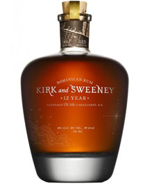 Kirk and Sweeney 12 yr Rum