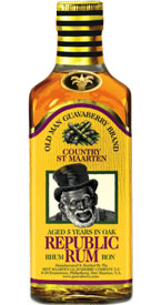 Old Man Guavaberry Republic 5 Yr Rum