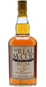 The Real McCoy 5 yr Rum