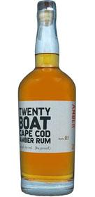 Twenty Boat Cape Cod Amber Rum