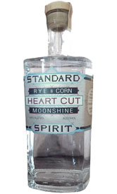 Standard Rye & Corn Heart Cut Moonshine