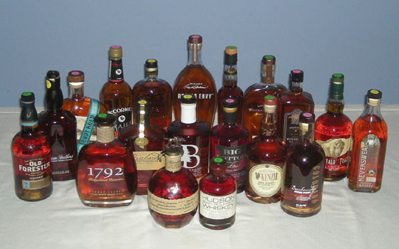 The Fifty Best Bourbon Tasting