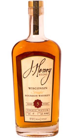 J. Henry & Sons 5 yr old 92 proof Bourbon