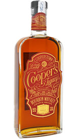 Cooper's Legacy New York State Bourbon Whiskey