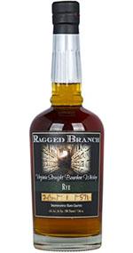 Ragged Branch Virginia Straight Rye Bourbon Whiskey